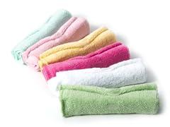 Wash Cloths (set of 6) Pink