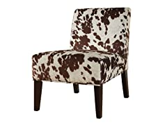 Brown Cow Lounge Chair