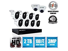 Night Owl 16-Ch System w/ DVR & 10 Cams