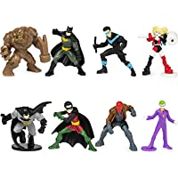 Deals on 8-Pack BATMAN 2-in Scale of Collectible Mini Action Figures