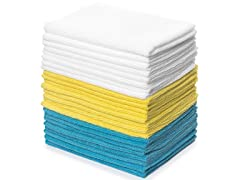 Royal 12x16 Microfiber Towels, 24-Pack