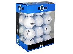 24pk of Recycled Bridgestone Golf Balls