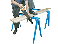 Folding Sawhorse Metal Work Stands