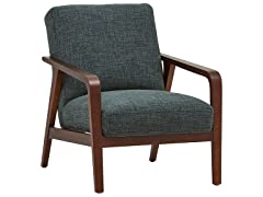 Rivet Huxley Mid-Century Modern Accent Chair