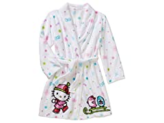 Komar Kids Hello Kitty Robe Size 2T