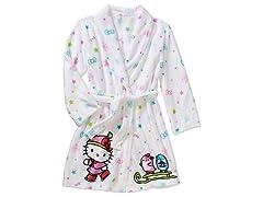 Komar Kids Hello Kitty Robe Size 2T