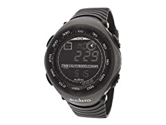 Men's Multi-Function Black Rubber