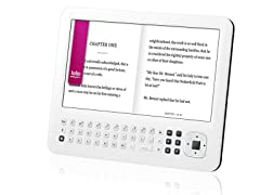 "7"" Color eReader with Android 2.1 - White"
