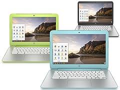 "HP 14"" 16GB Chromebooks (2014 Model)"