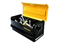 Stanley STST19500 Big Space Metal Tool Box, 19""