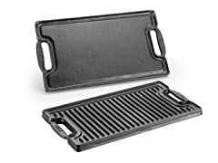 T-fal Cast Iron Double Burner Griddle