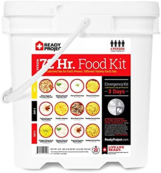 Ready Project 4-Person 72-Hour Food Supply Kit