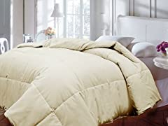 Down Alternative Comforter-Ivory-Full/Queen