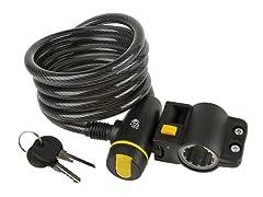 Tour de France Auto Spiral Cable Lock
