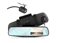 PYLE Mirror DVR Camera & Monitor System