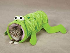 Zanies® Toad-ally Fun Cat Tunnel