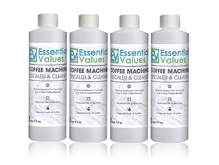 Coffee & Espresso Machine Descaling Solution 4-Pk