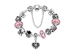 Sweet Bubblegum Charm Bracelet