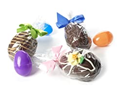 Candy Basket Filled Chocolate Egg 3-Pack