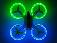 Force1 UFO 3000 LED Drone Quadcopter