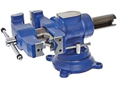 "Yost 5"" Heavy-Duty Combination Pipe/Bench Vise"