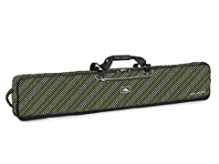High Sierra Wheeled Double Hot Dots Ski Bag