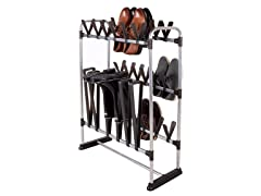 STORAGE MANIAC 24 Pair Shoe Rack