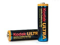 Kodak ULTRA Digital AA Alkaline Batteries - 48pk