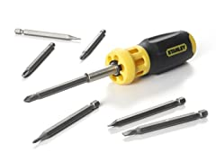Push-N-Pick Screwdriver