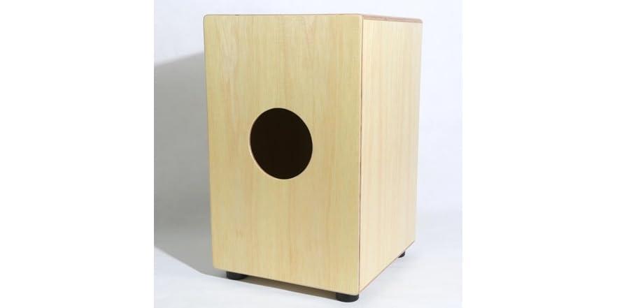 Pyle Pcjd18 Wooden Cajon Percussion Box