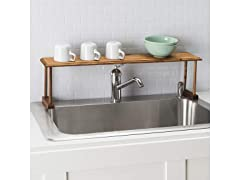 Pine Over Sink Shelf