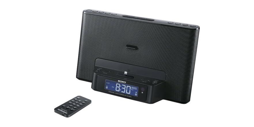 Sony Lightning iPhone/iPod Clock Radio Speaker Dock