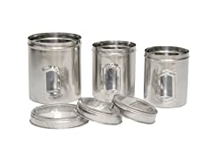 Set of 3 different sizes of Canister