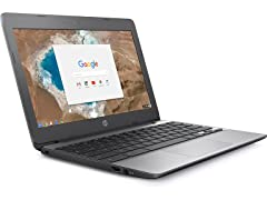 "HP 11"" Intel Dual-Core Touch Chromebook"