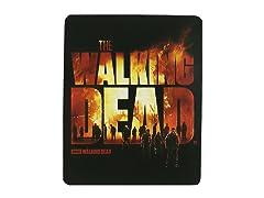 Walking Dead Fleece Throw - Burning Logo