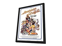 American Graffiti 27x40 Framed