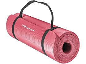 Reehut 1/2-Inch Extra Thick High Density Yoga Mat
