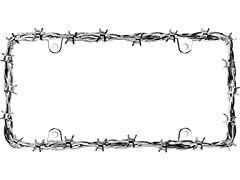 Cruiser Accessories Chrome Barbed Wire II Frame