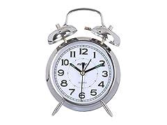 "Maple's Clock 4"" Double Bell Alarm Clock (2 Colors)"