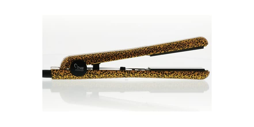 Style House Flat Iron Gold Leopard