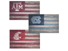 Fan Creations NCAA Distressed Flag N-Z