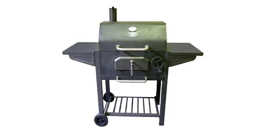 Heavy Duty Charcoal Barbecue : North american outdoors heavy duty charcoal grill