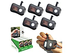 MiniFlash Solar Flashlight - 5Pk