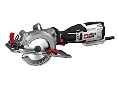 "5.5 Amp 4-1/2"" Compact Circular Saw Kit"