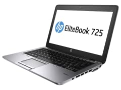 "HP EliteBook 725 12.5"" A10 Touch Laptop"