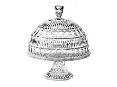 Portico Chip and Dip / Domed Cake Plate