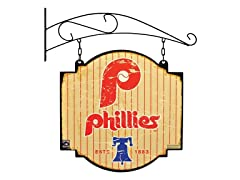 Philadelphia Phillies Vntage Tavern Sign