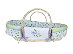 Trend Lab Caterpillar Moses Basket Set