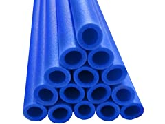 "44"" Blue Foam Safety Sleeves - Set of 12"