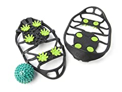 Due North Golf Traction Aid with Foot Massager Bundle